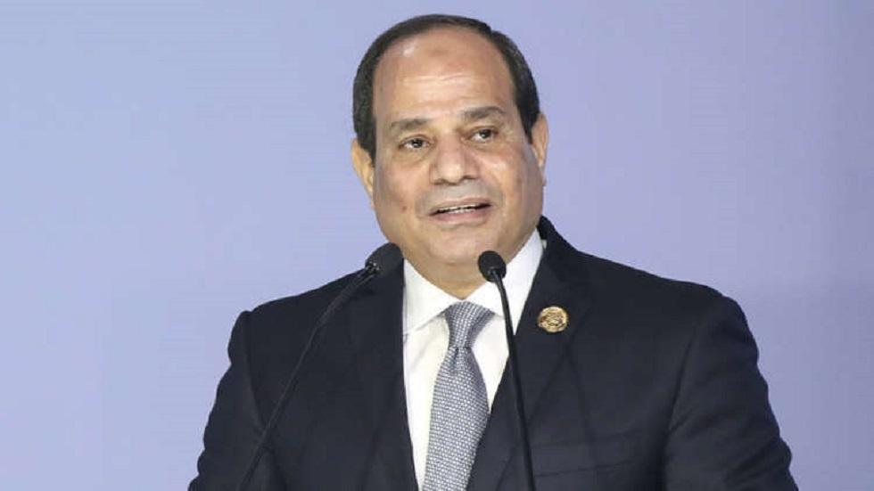 الرئيس المصري عبد الفتاح السيسي (صورة أرشيفية)