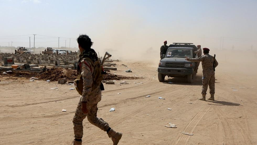عناصر الجيش اليمني في مأرب باليمن - أرشيف