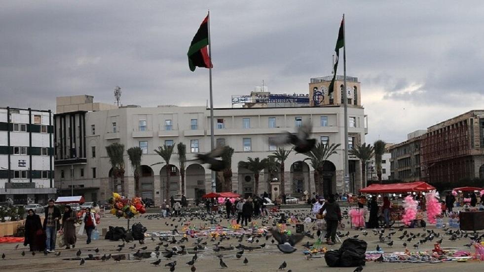 ميدان الشهداء في العاصمة الليبية طرابلس
