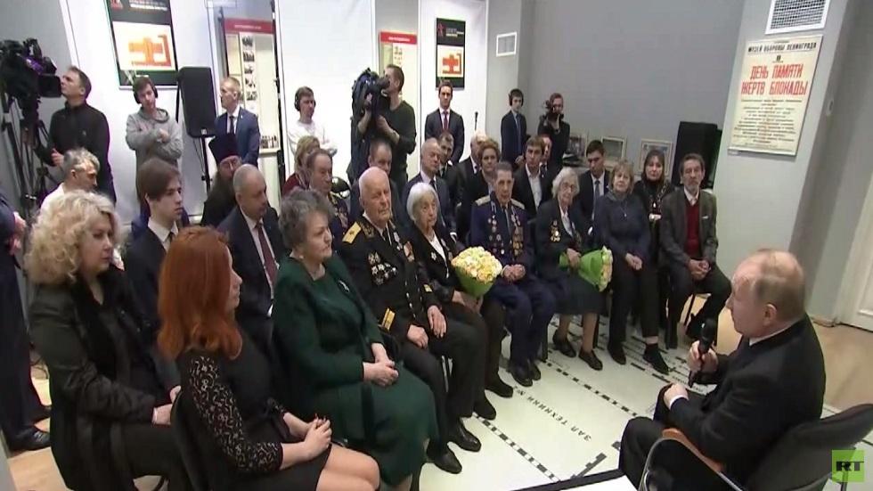 روسيا تحيي ذكرى اختراق حصار لينينغراد