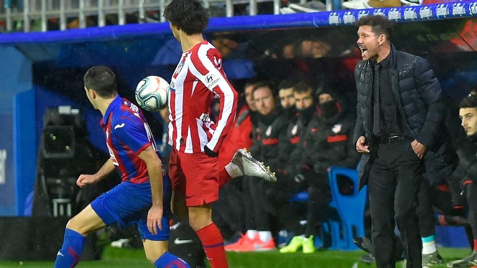 إيبار يصعق أتلتيكو مدريد بثنائية في