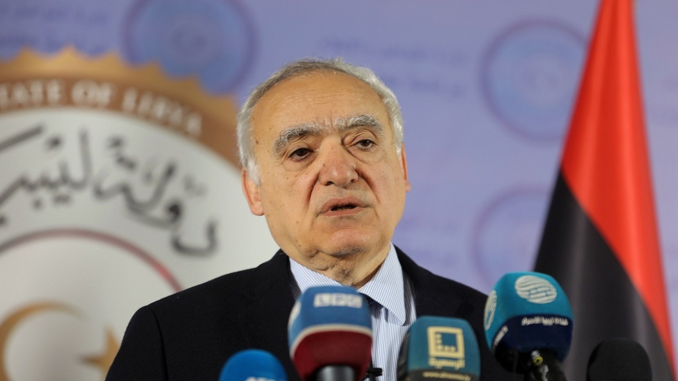 غسان سلامة، الممثل الخاص للأمين العام للأمم المتحدة ورئيس بعثة الأمم المتحدة للدعم في ليبيا (صورة أرشيفية)