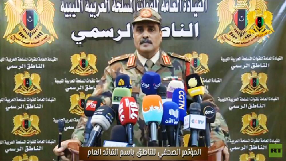 قوات حفتر: إبعاد قطر عن مؤتمر برلين في صالحها