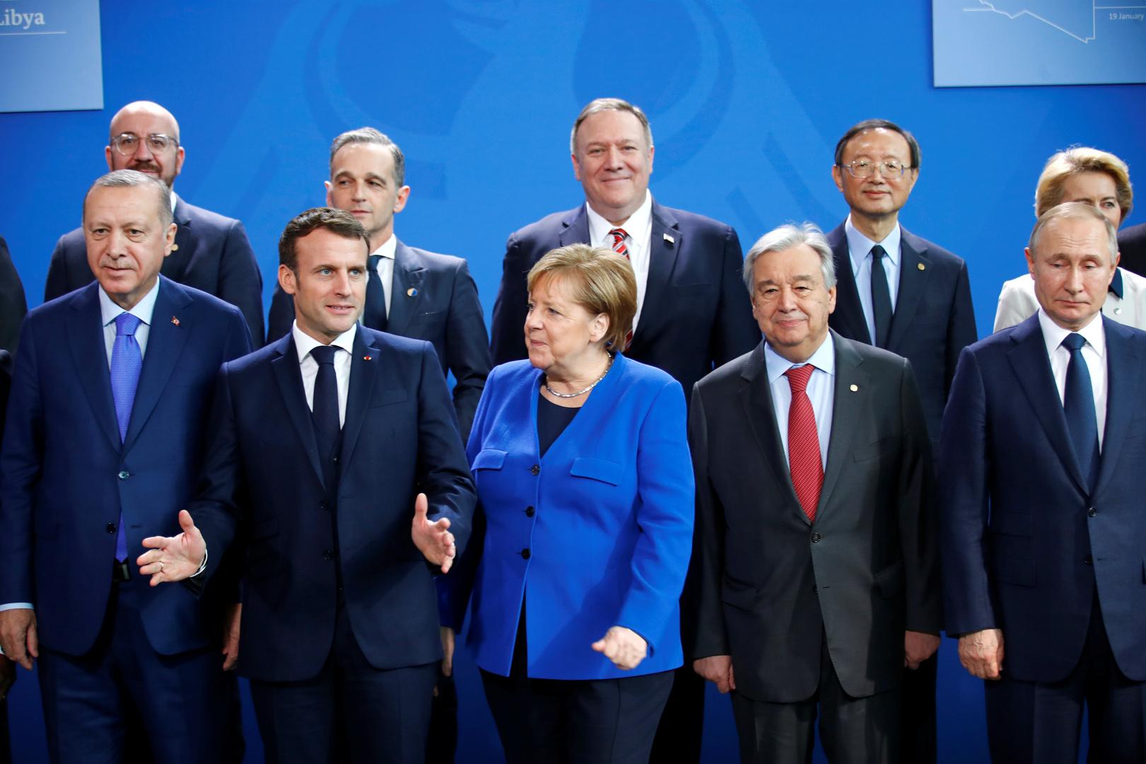 ألمانيا لم تدرج حفتر والسراج في قائمة حضور مؤتمر برلين حول ليبيا