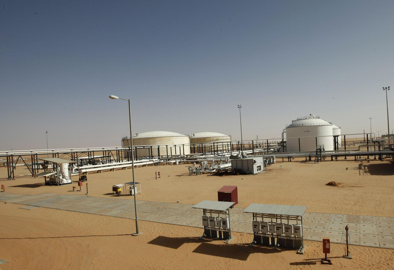 حقل الشرارة النقطي في ليبيا