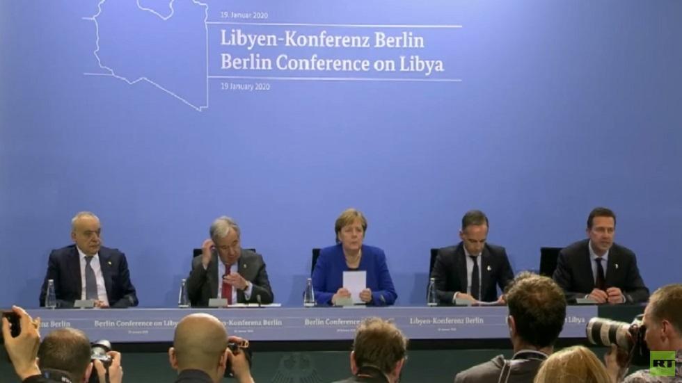 مؤتمر برلين: لا حل عسكريا في ليبيا