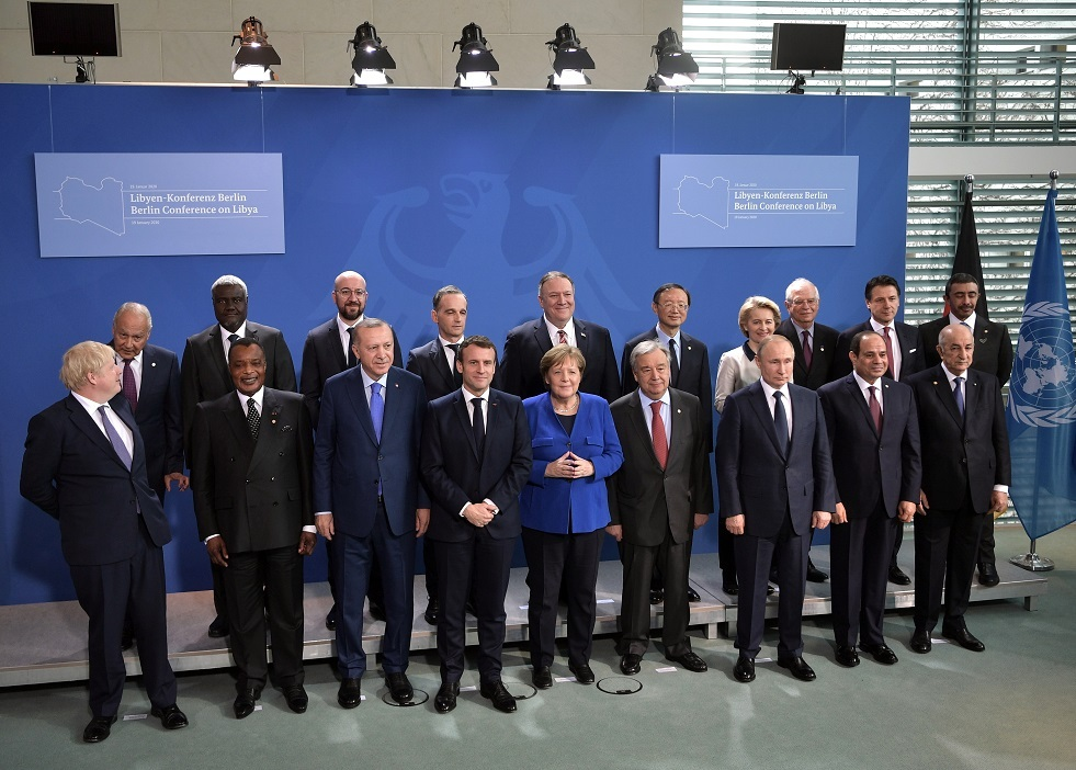 اليونان بصدد تقييم مؤتمر برلين بعد اجتماع وزراء خارجية الاتحاد الأوروبي