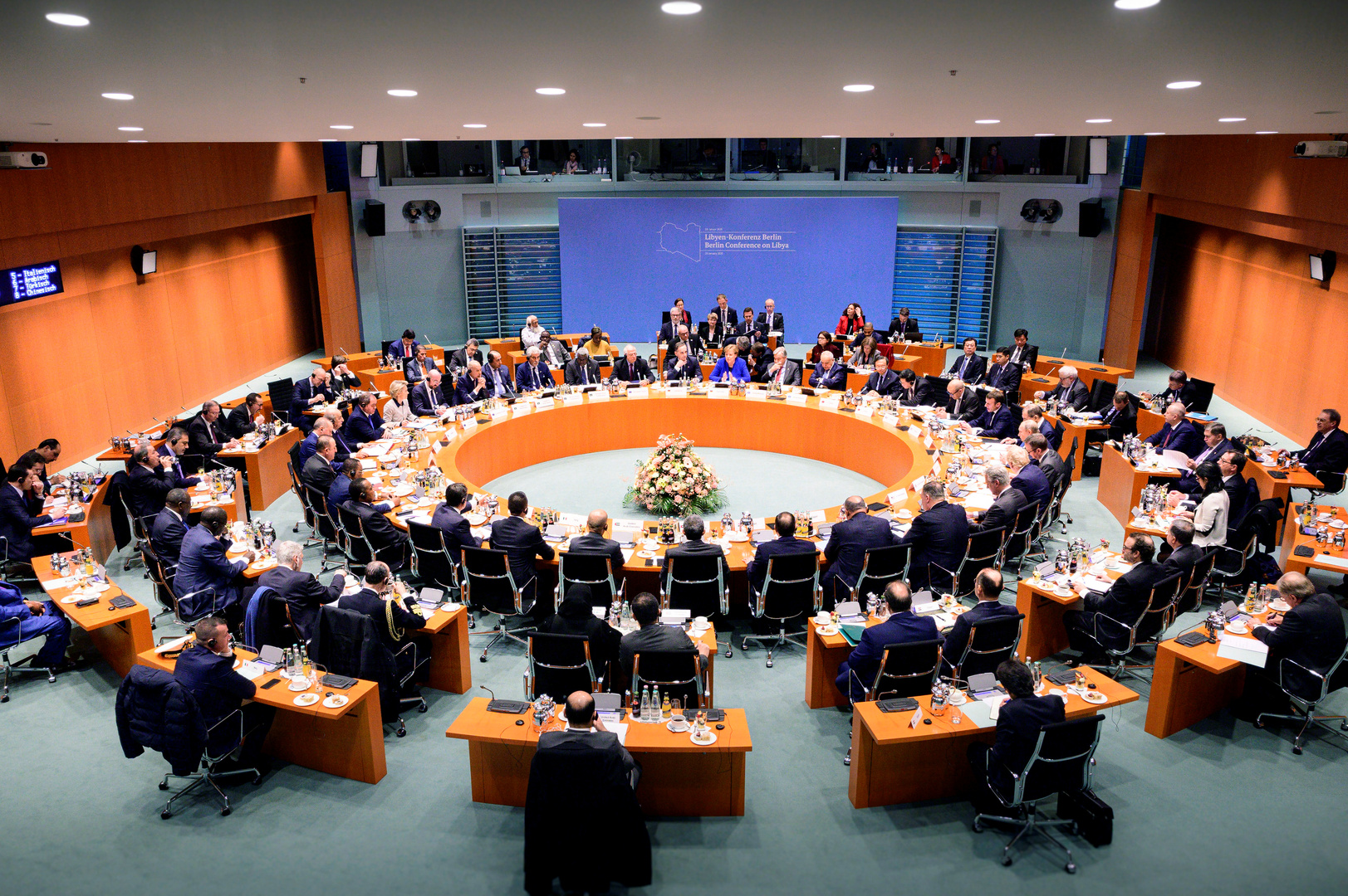مؤتمر برلين حول ليبيا (19 يناير 2019).