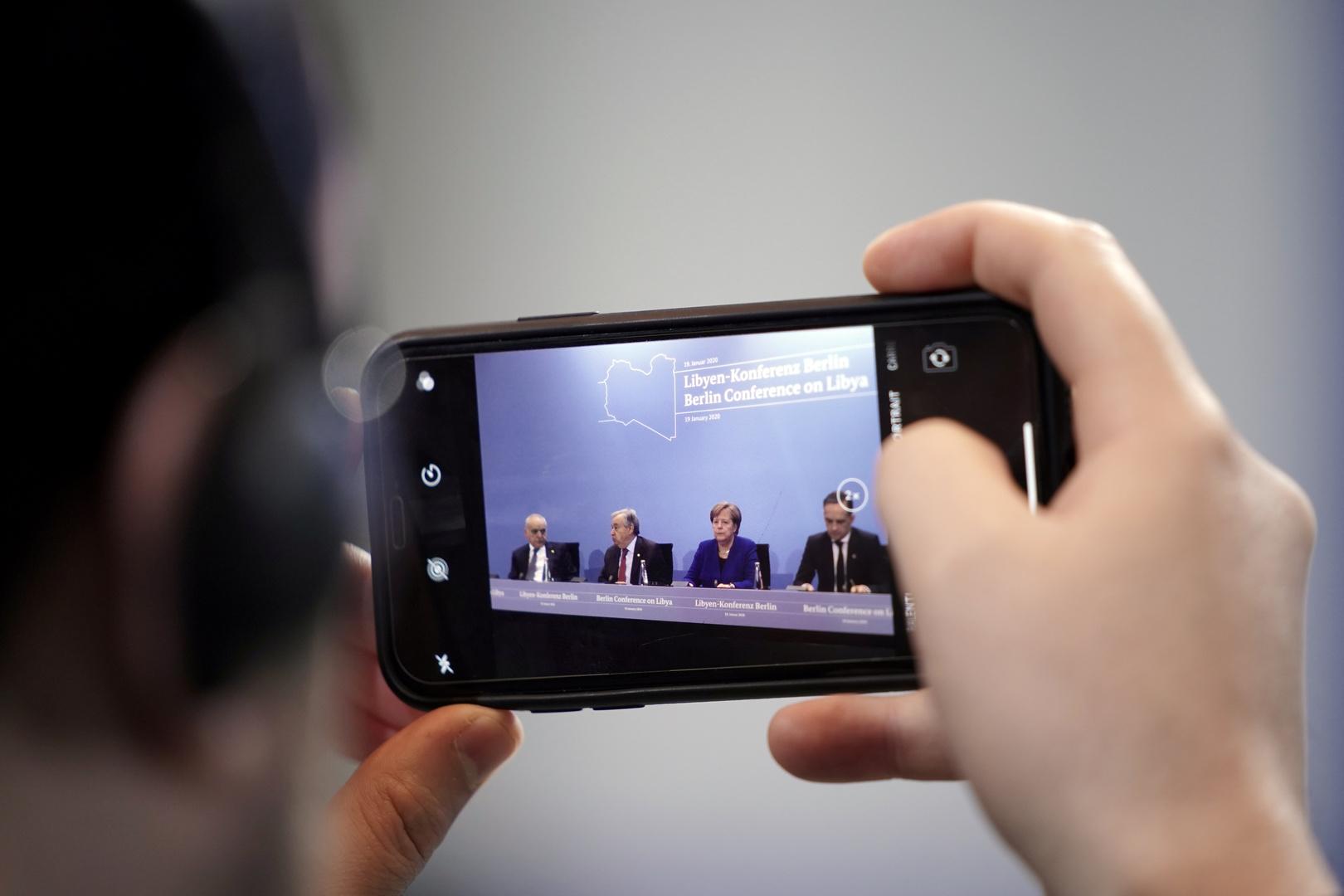 مؤتمر برلين حول ليبيا، الأحد