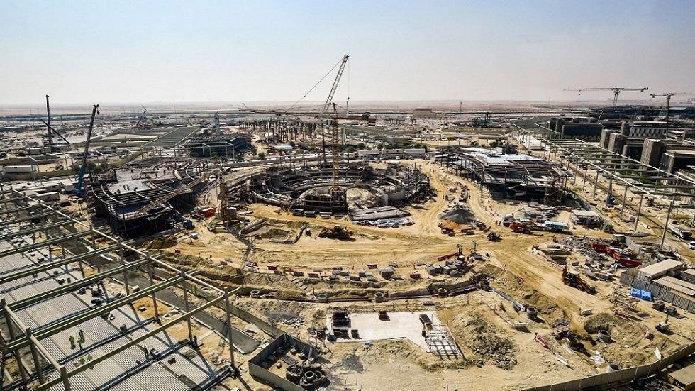 """أعمال بناء لمنشآت معرض """"إكسبو 2020 دوبي"""""""