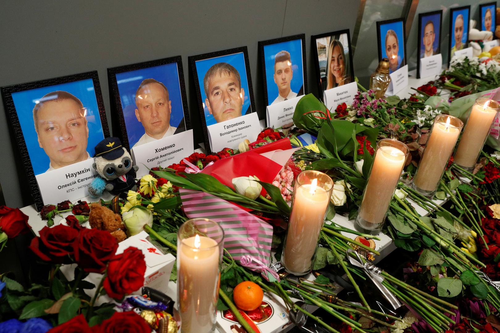 إيران تعتبر مزدوجي الجنسية من ضحايا الطائرة الأوكرانية مواطنين إيرانيين