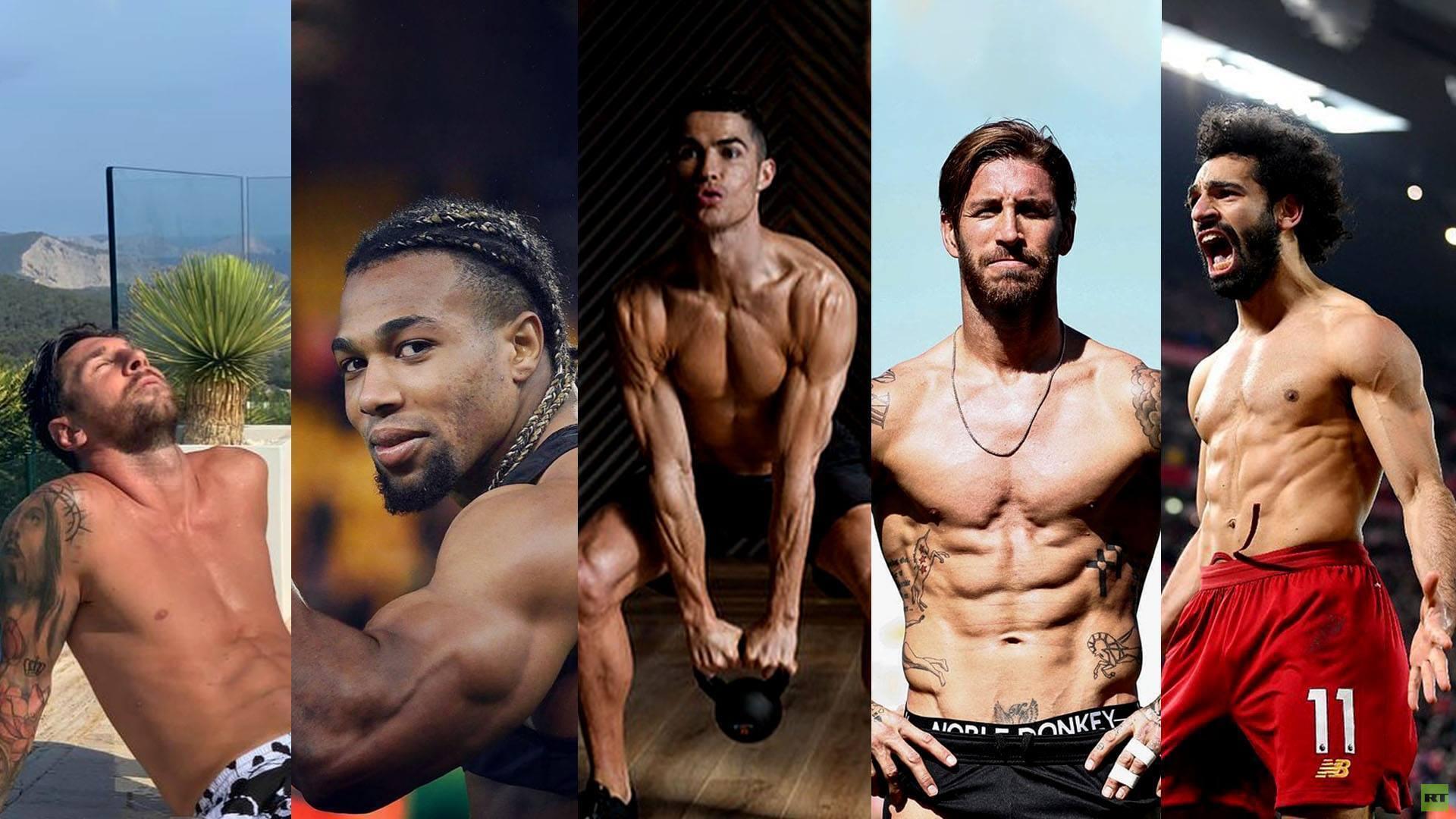 ما سر إقبال بعض لاعبي كرة القدم على استعراض عضلاتهم؟