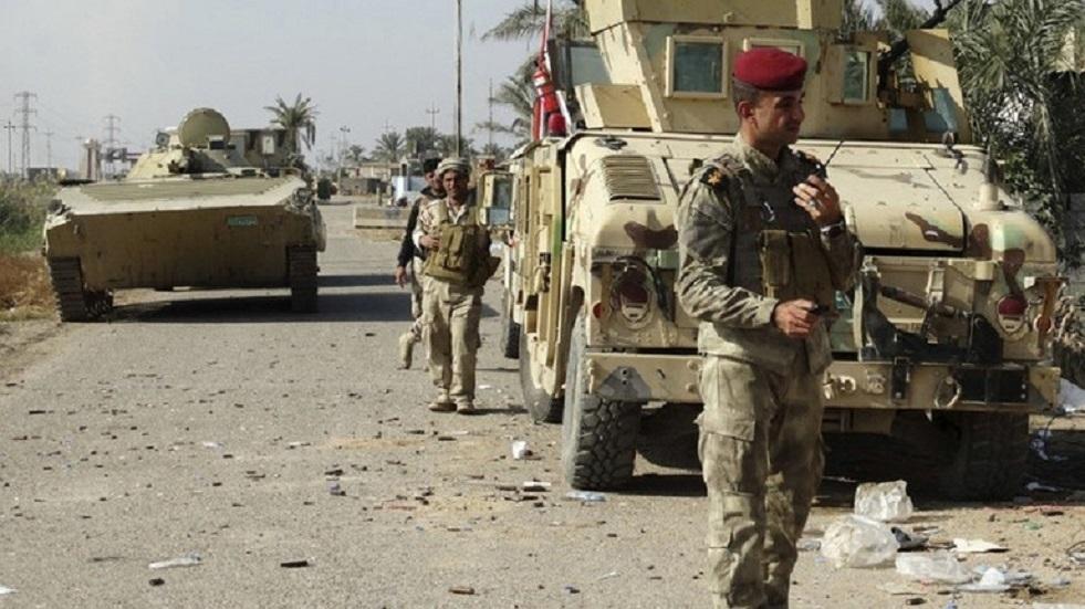 القوات الأمنية العراقية في محافظة الأنبار - أرشيف