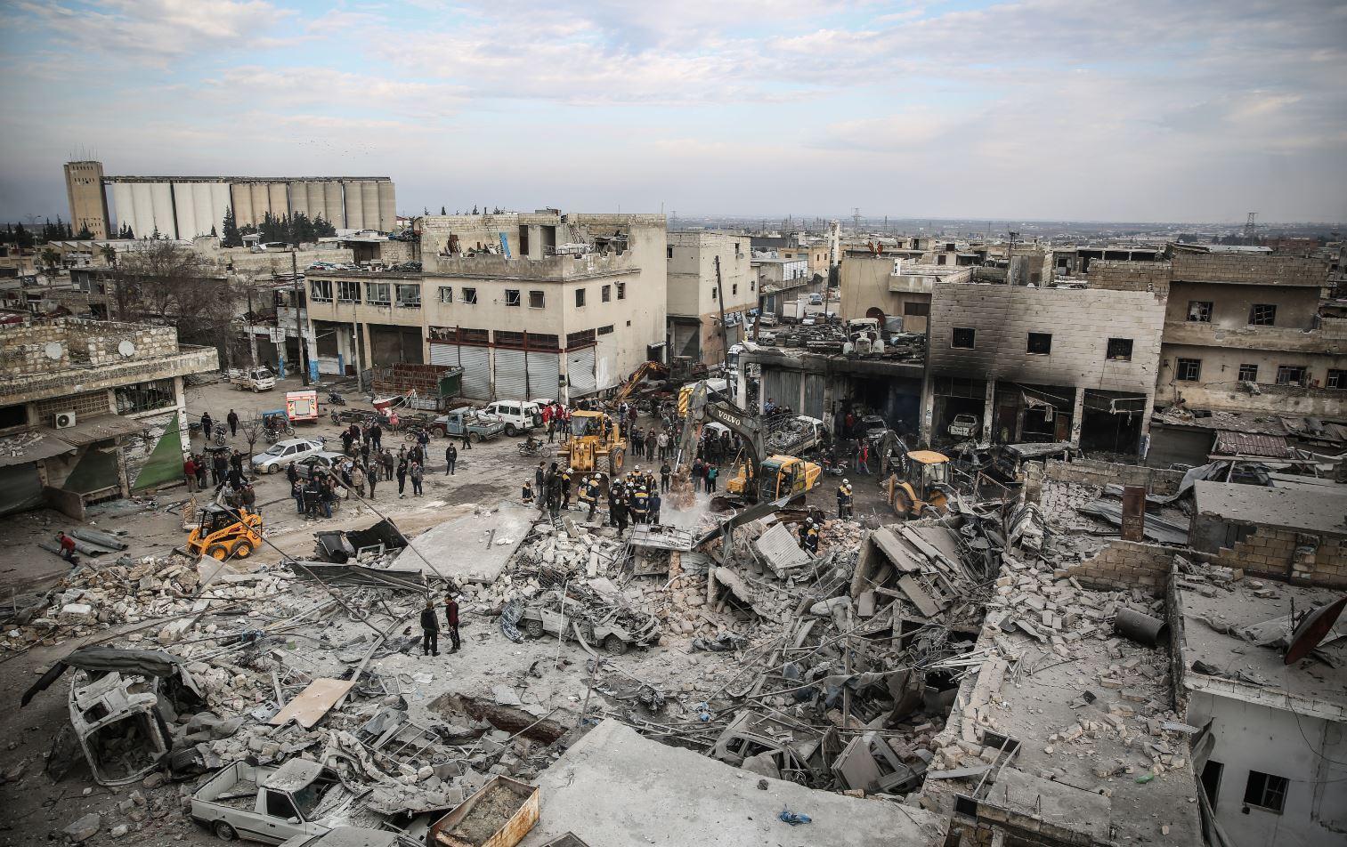 إدلب: وقف إطلاق النار لم يصمد