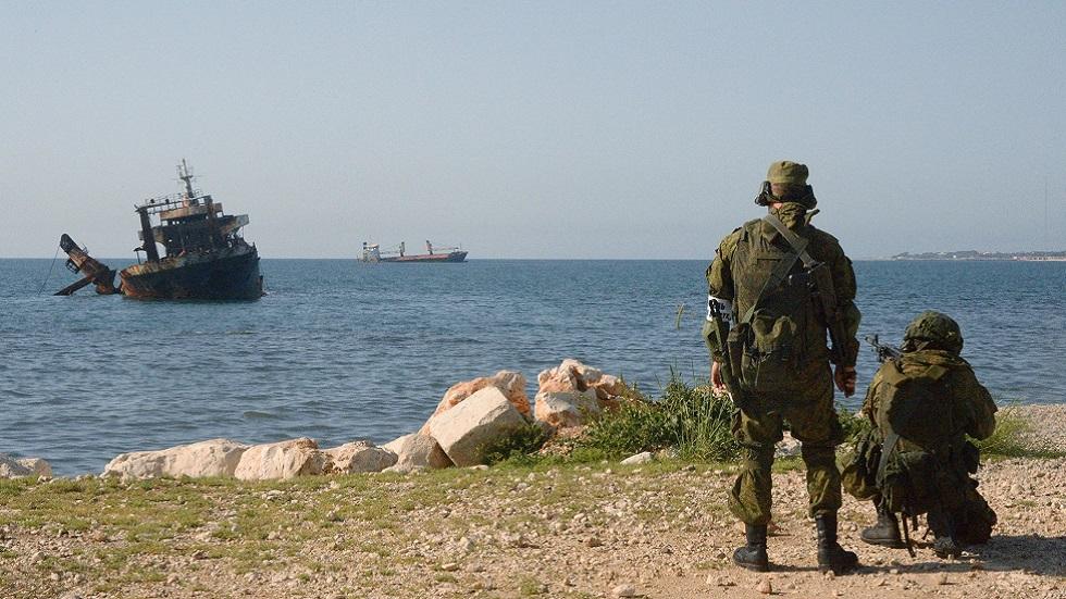 تدريبات روسية سورية مشتركة لقوات المشاه البحرية في طرطوس (صورة أرشيفية)