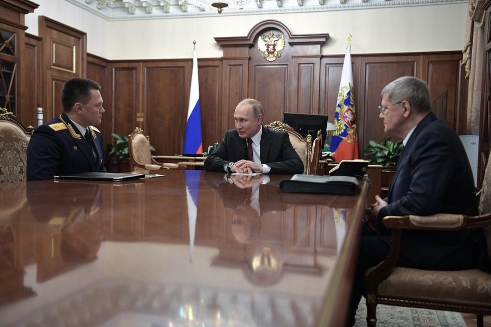 بوتين يرشح المدعي العام الروسي لمنصب مفوض الرئيس في دائرة شمال القوقازالفدرالية