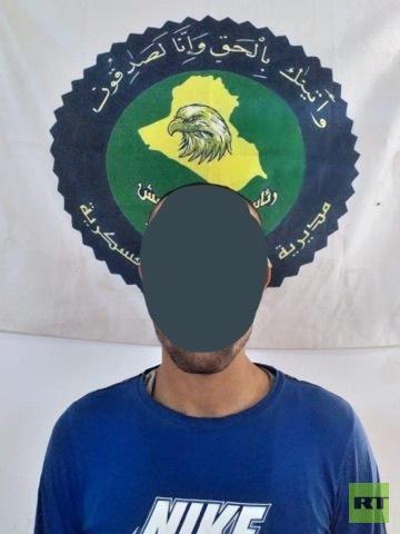 اختراق وتفكيك خلية إرهابية بالموصل (صور)