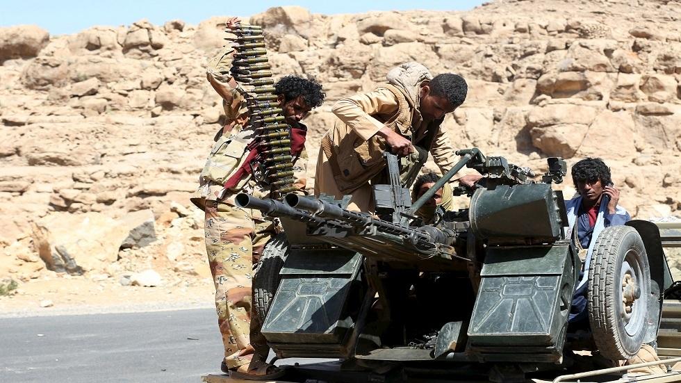 قوات الجيش الليمني قرب صنعاء - أرشيف