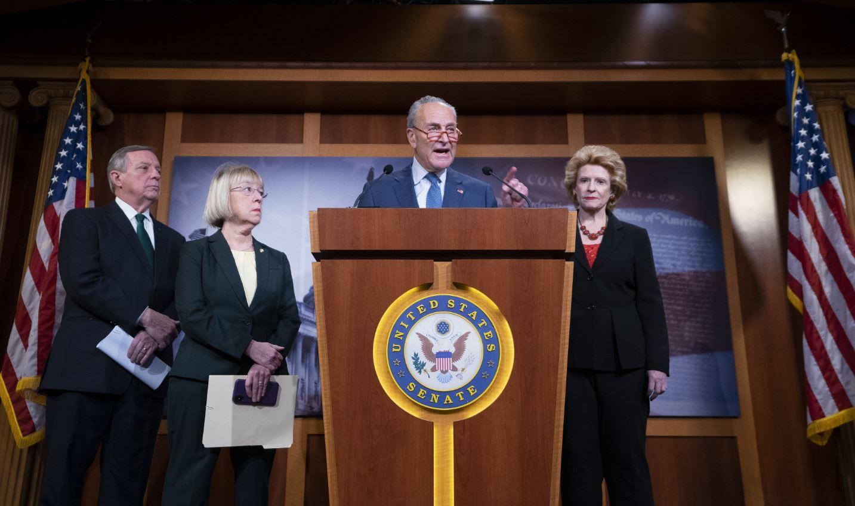 الرئيس الأمريكي سيخضع لمحاكمة الشيوخ