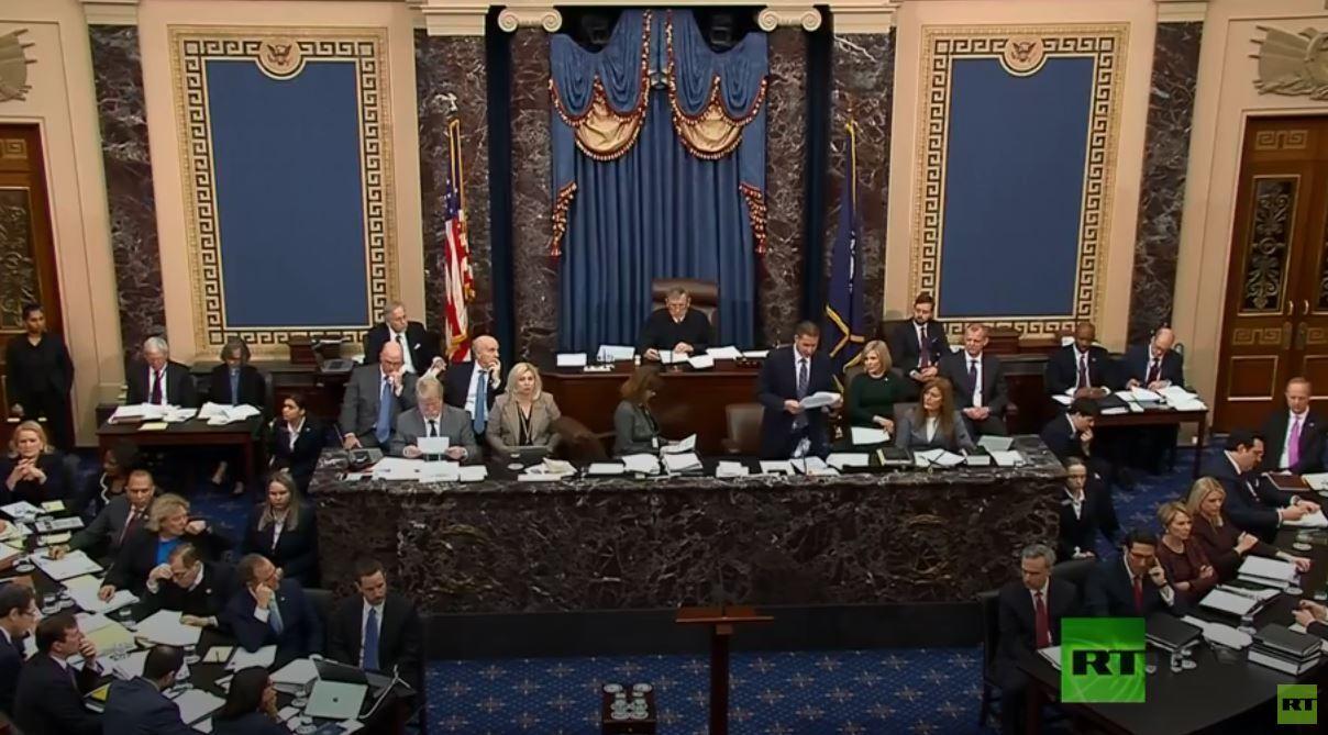 مجلس الشيوخ يصوت بالرفض على تعديل استدعاء شهود جدد في محاكمة عزل ترامب