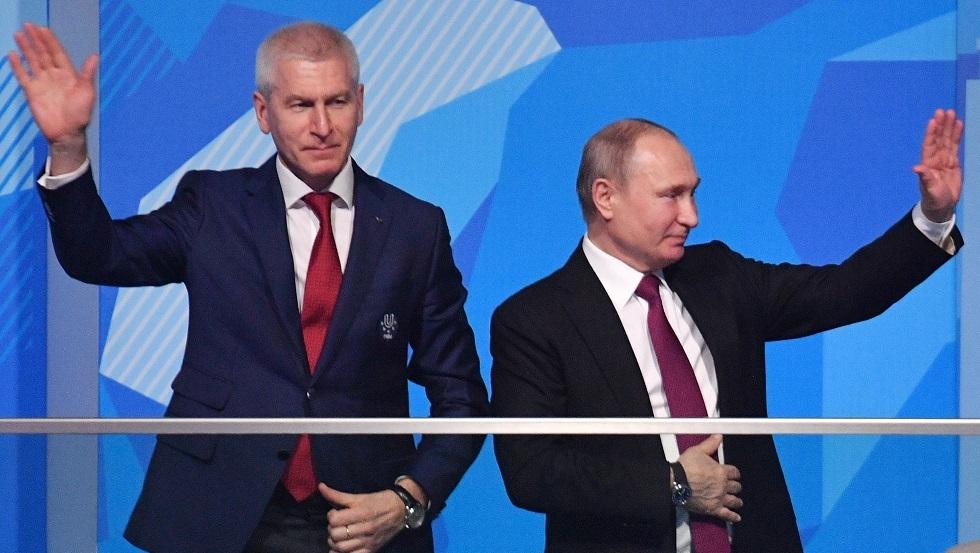 بوتين يعين وزيرا جديدا للرياضة في روسيا