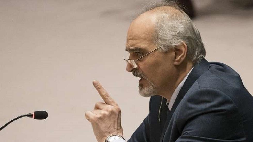 مندوب سورية الدائم لدى الأمم المتحدة بشار الجعفري (صورة أرشيفية)
