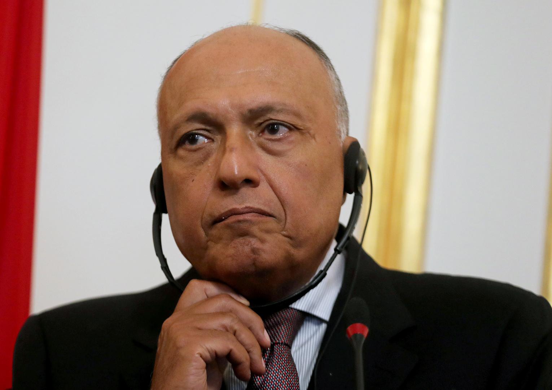 شكري إلى الجزائر لحضور اجتماع دول جوار ليبيا