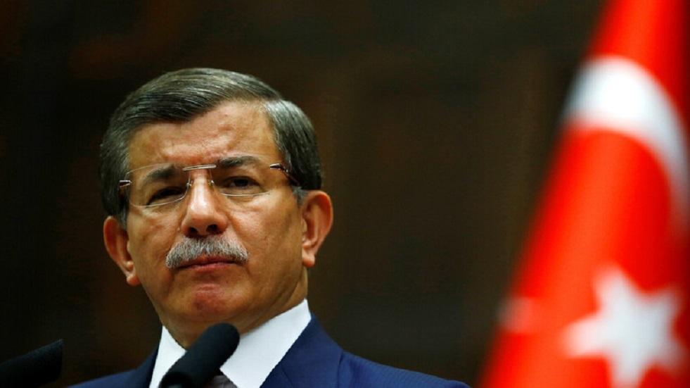 أحمد داوود أوغلو، رئيس الوزراء التركي السابق- أرشيف