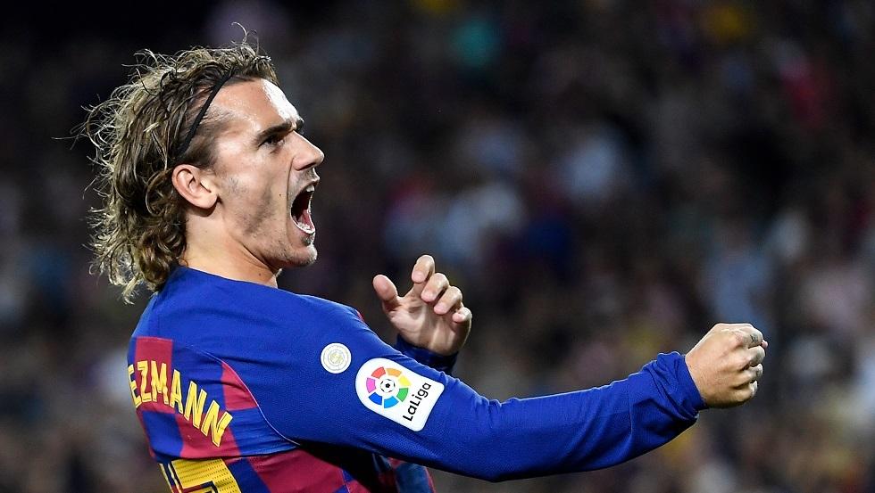 غريزمان ينقذ برشلونة من كمين فريق مغمور