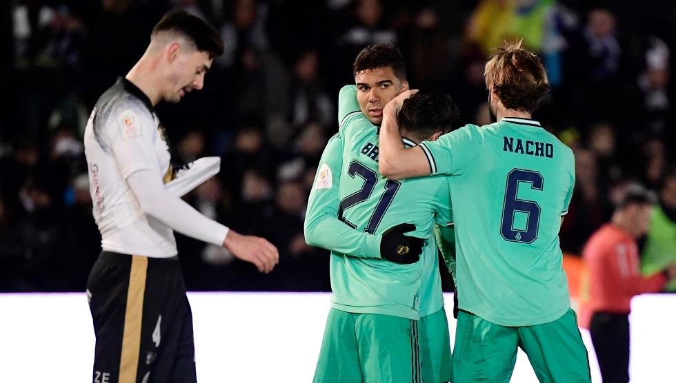 ريال مدريد يفوز بـ
