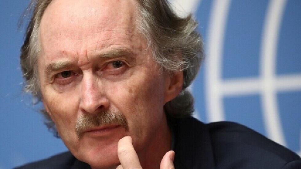 المبعوث الأممي الخاص إلى سوريا غير بيدرسن