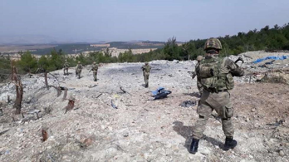 جنود أتراك- شمال سوريا- صورة أرشيفية