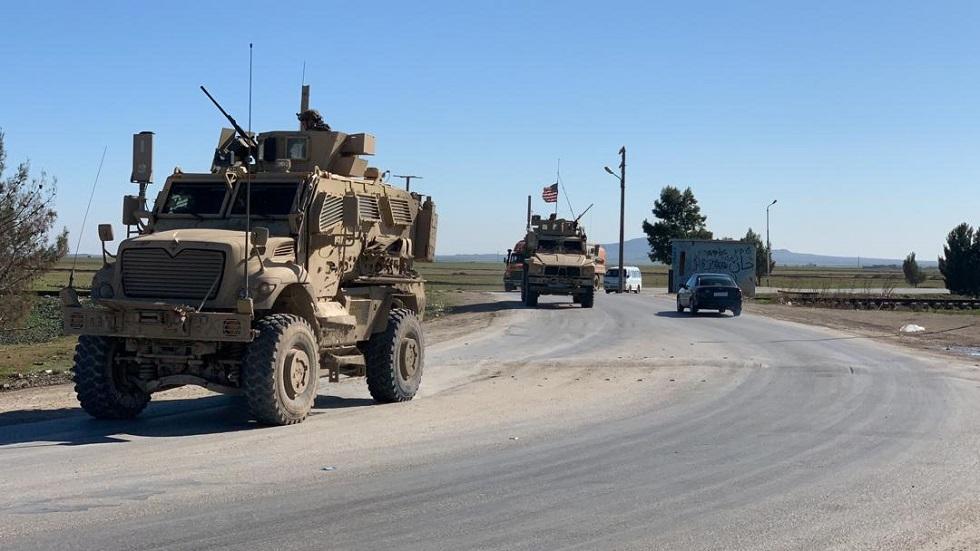 تحركات عسكرية أمريكية برفقة