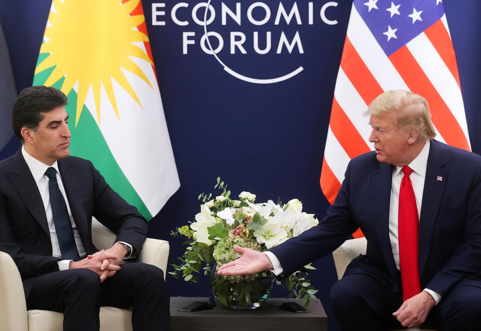 في موقف محرج.. ترامب يخلط بين أكراد سوريا والعراق