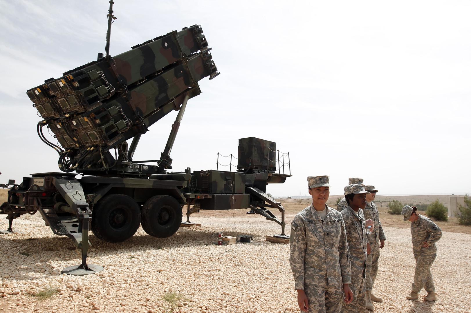 """منظومة """"باتريوت"""" الأمريكية المضادة للصواريخ"""