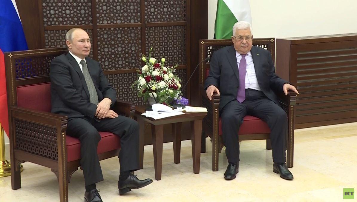 بوتين يلتقي عباس في بيت لحم