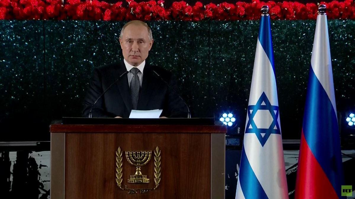 بوتين: يجب القضاء على مظاهر معاداة السامية