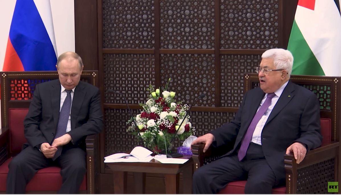 بوتين: مستعدون لدعم تسوية فلسطينية إسرائيلية