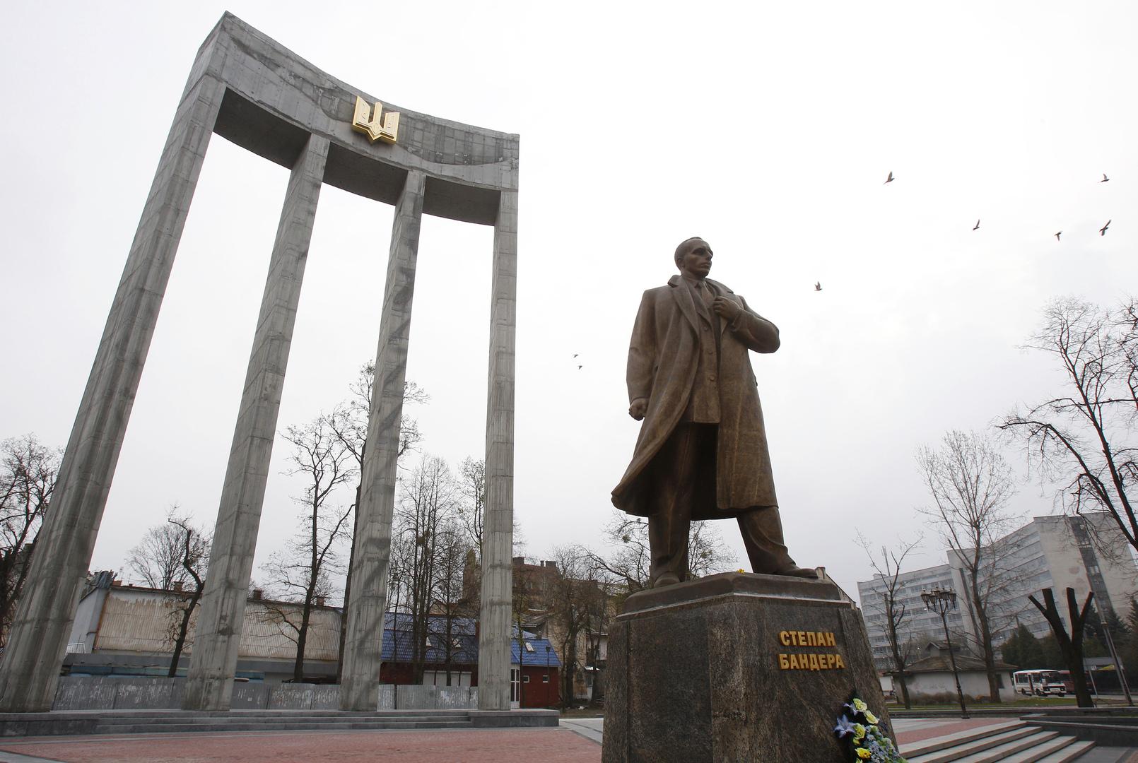 تمثال لستيبان بانديرا