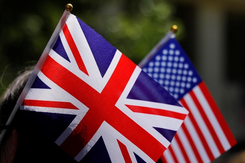 العلمان البريطاني والأمريكي