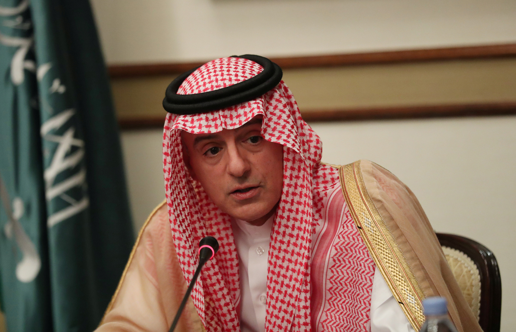 الجبير: لا علاقات للسعودية مع إسرائيل