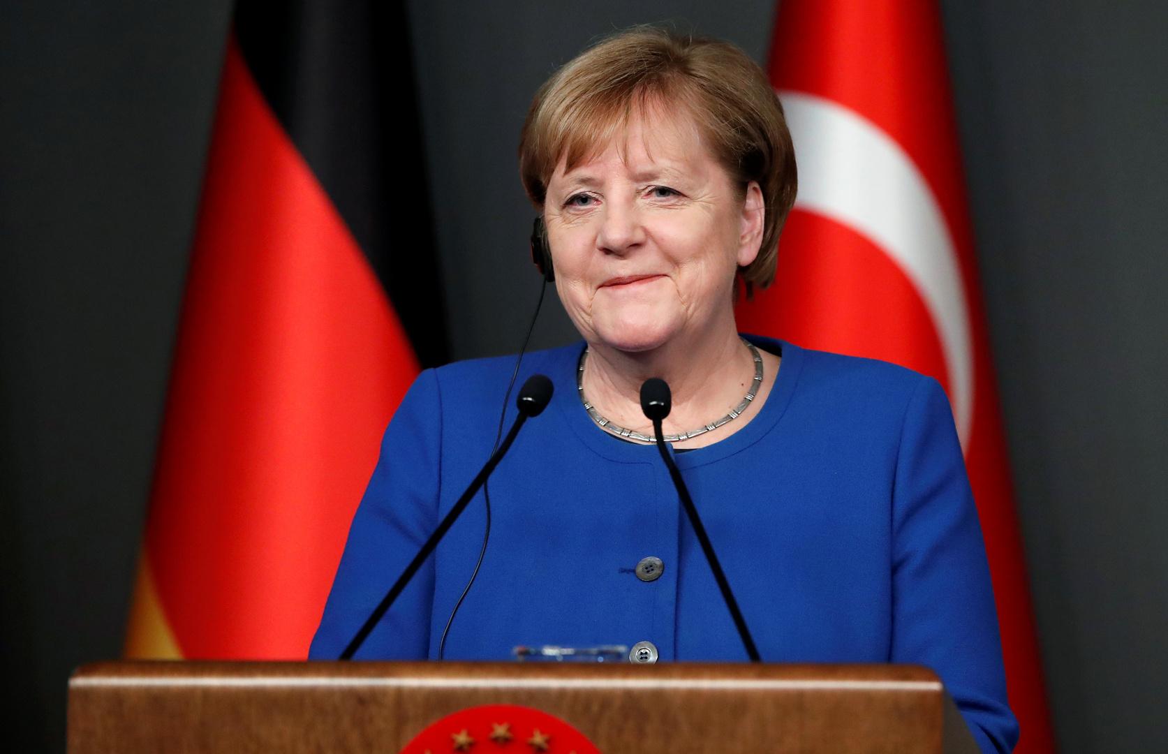 ميركل تعلن دعمها للقاء ألماني تركي روسي فرنسي حول سوريا