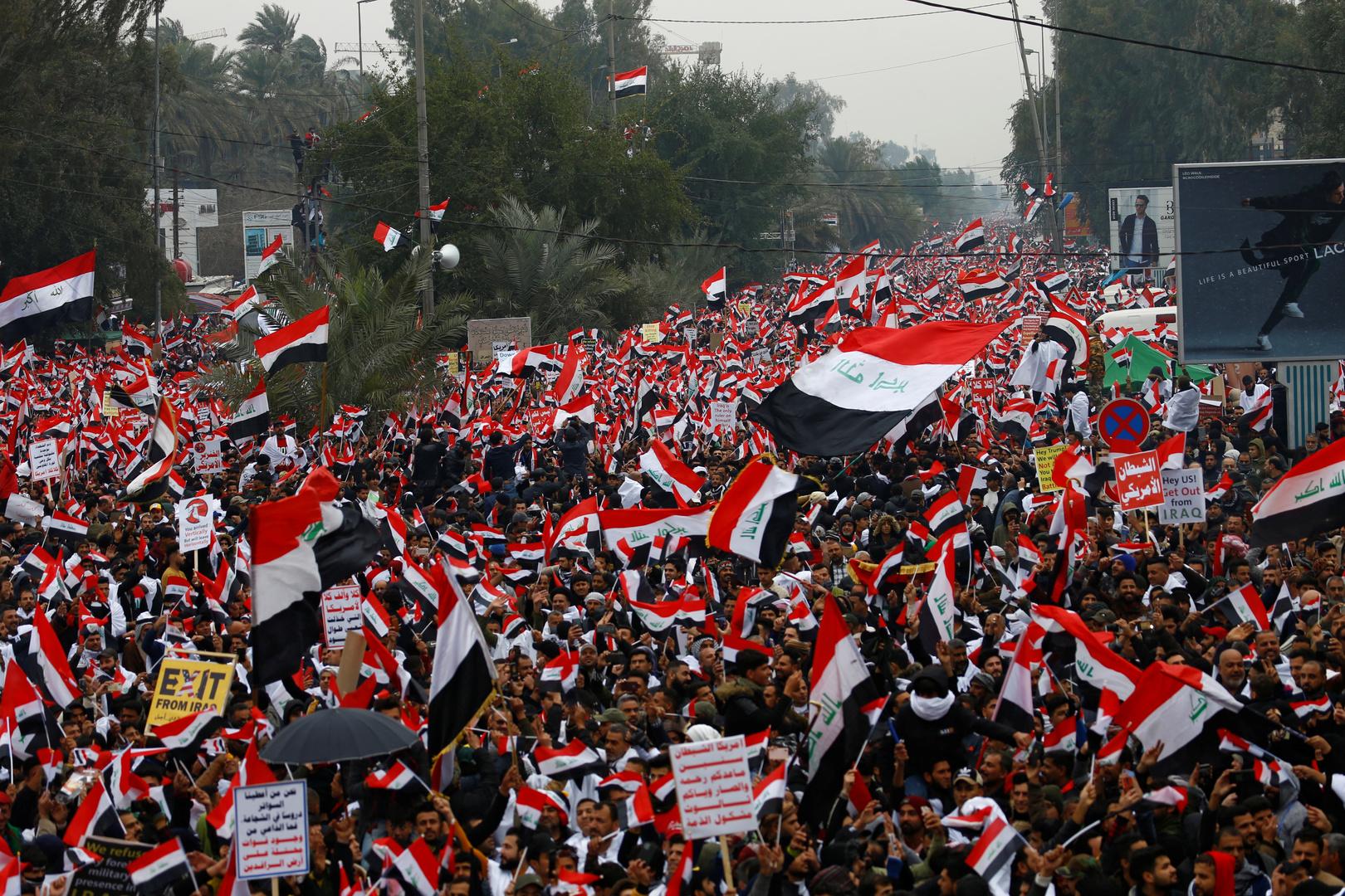 مقتل 4 متظاهرين بعد تجدد الاشتباكات ببغداد