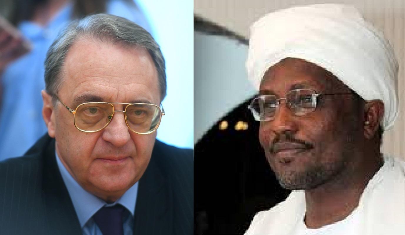 بوغدانوف يبحث مع سفير السودان الأزمة الليبية والعلاقات بين موسكو والخرطوم