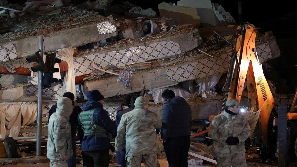 بالفيديو.. شاهد لحظة وقوع زلزال تركيا