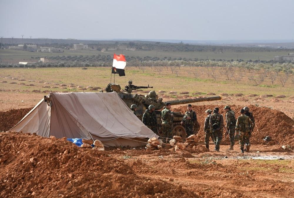 عناصر من الجيش السوري (أرشيف).