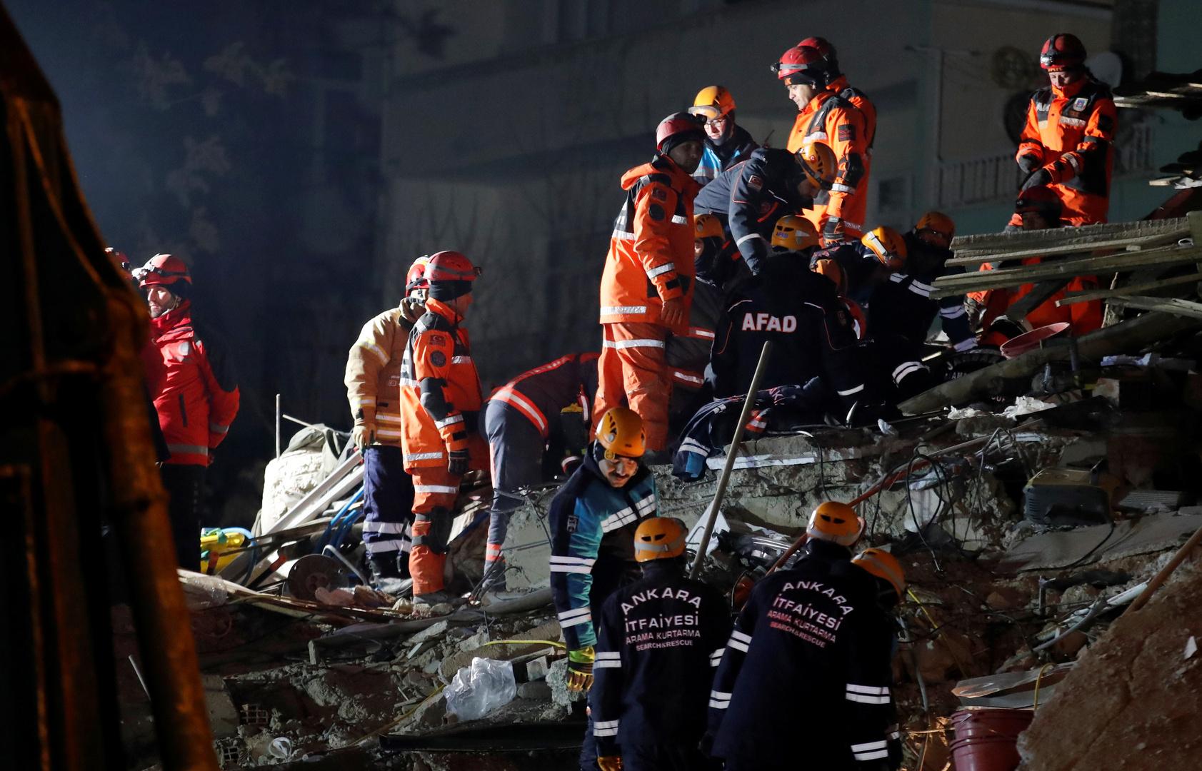 ارتفاع عدد قتلى زلزال تركيا إلى 31 شخصا