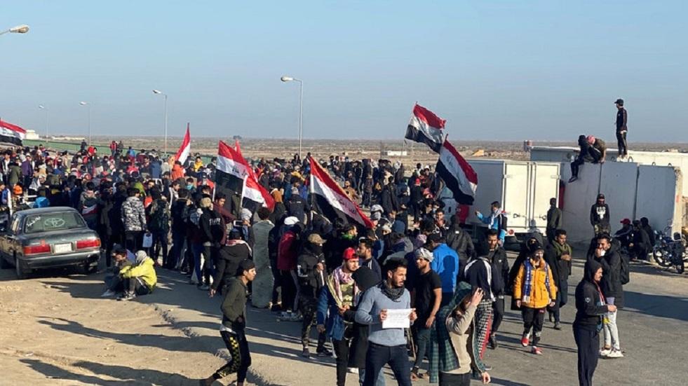 العراق: مقتل 12 محتجا خلال تظاهرات اليومين الماضيين