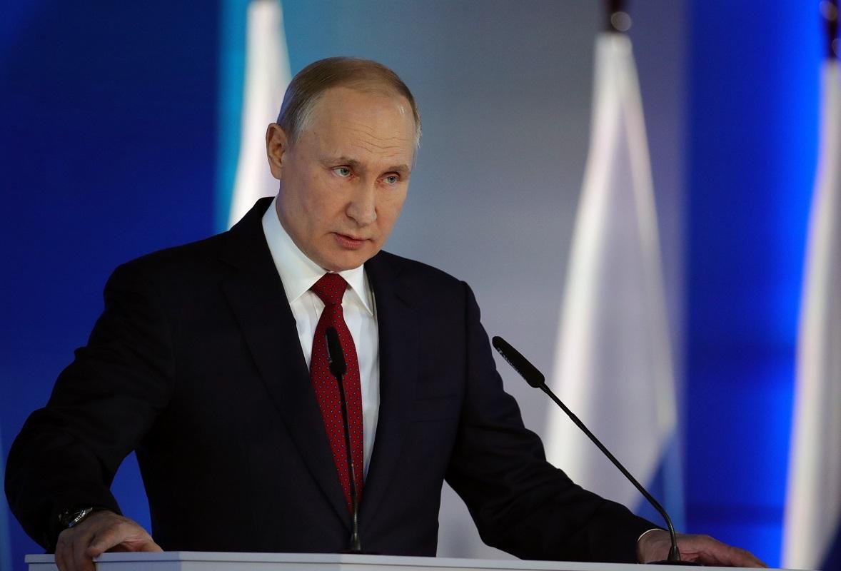 لرئيس الروسي فلاديمير بوتين