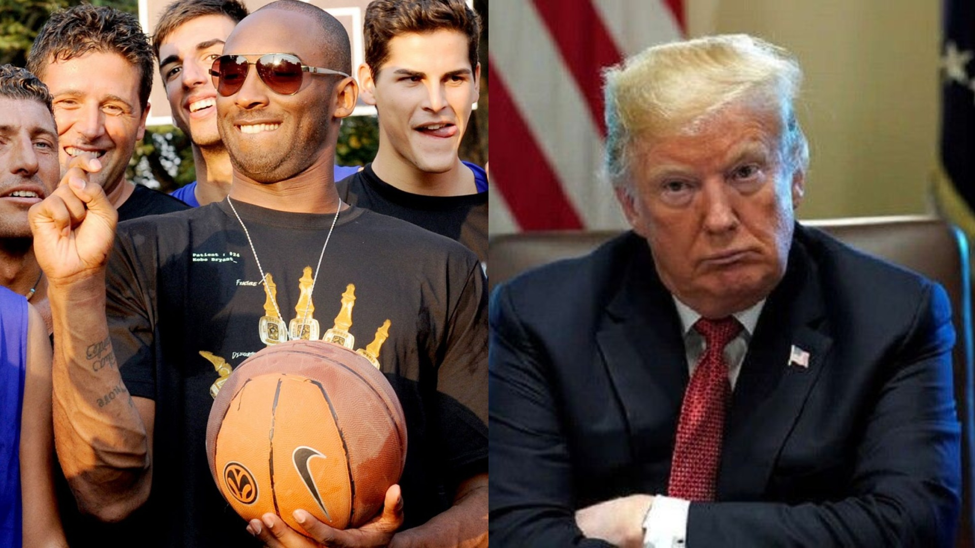 ترامب ينعى أسطورة السلة كوبي براينت